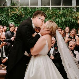 Lyndi and John host a Beautiful Surprise Wedding in Omaha.